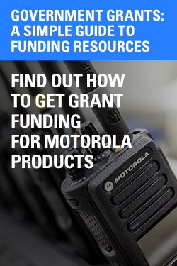 Motorola two-way radio promotions Government Grants